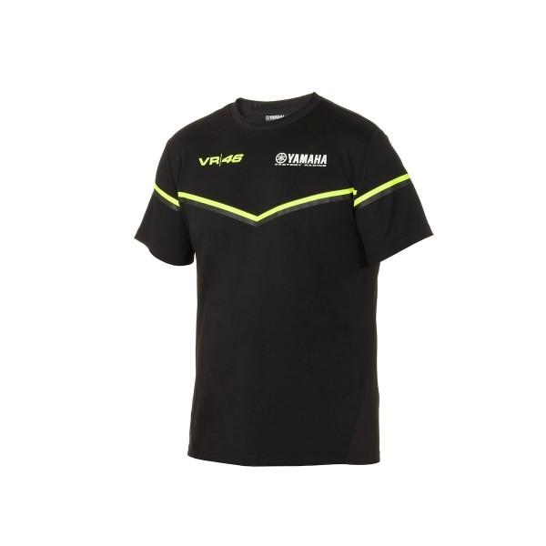 VR46 Black Line Herren T-Shirt