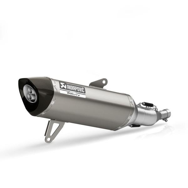 Akrapovic-Slip-on-Schalldämpfer für den Tricity 300 Titan