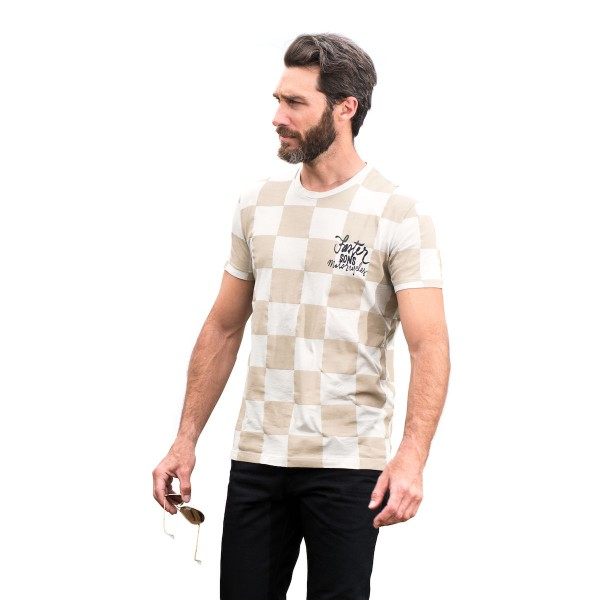 Faster Sons T-Shirt Checkered