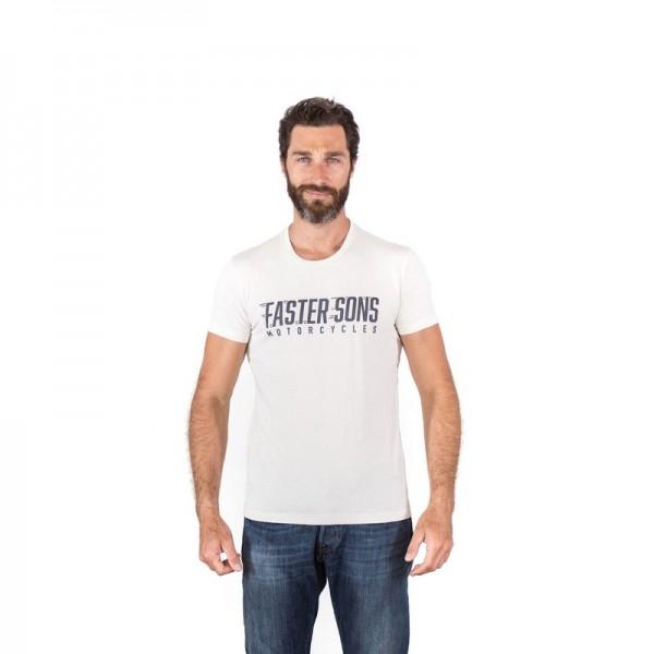 Faster Sons Logo T-Shirt White