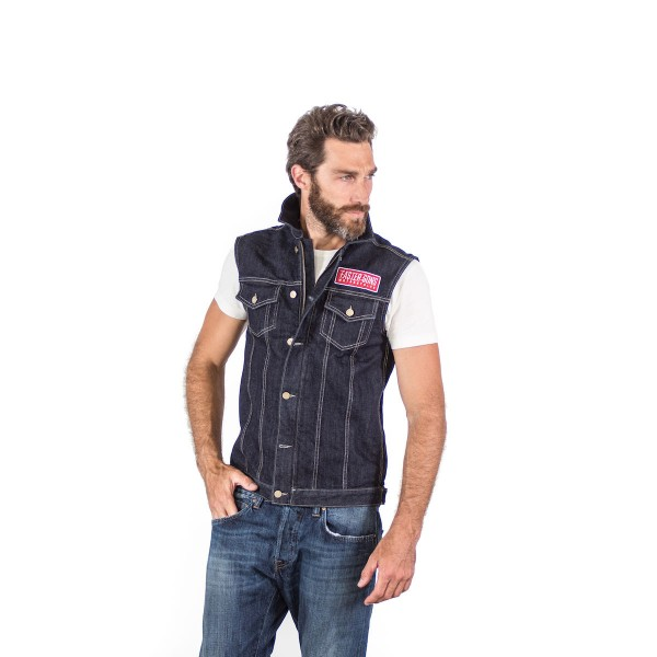 Faster Sons Jeans-Weste