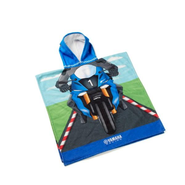 Kinder-Ponchohandtuch Yamaha Racing