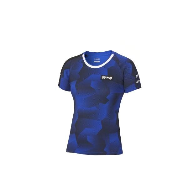 Paddock Blue Camo-T-Shirt für Damen
