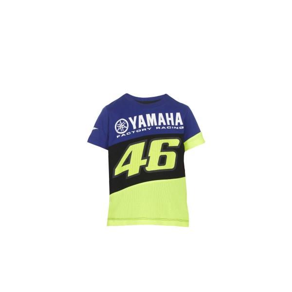 Yamaha VR46-T-Shirt Kinder