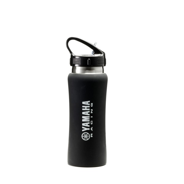 Wasserflasche in Racing Black