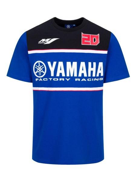 Fabio Quartararo – Yamaha Factory Racing-T-Shirt für Herren