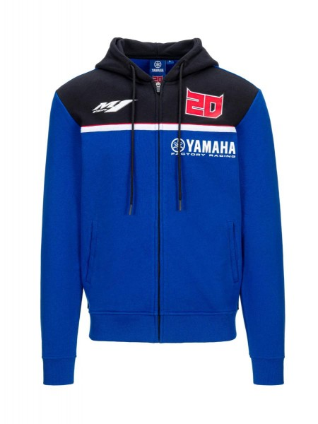 Herren-Kapuzenpulli Fabio Quartararo – Yamaha Factory Racing