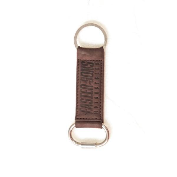 Faster Sons Schlüsselring aus Leder