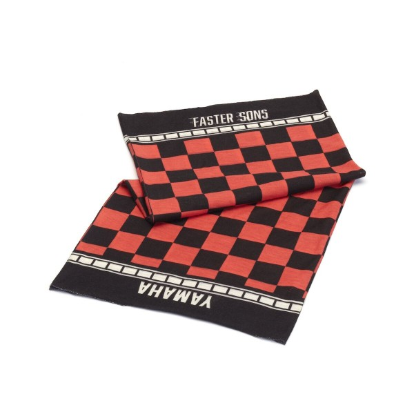 Faster Sons Schlauchtuch black/red