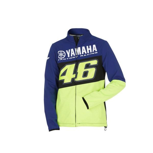 Yamaha VR46 Herren Softshelljacke